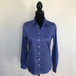 Banana Republic Non Iron Fitted Button Up Shirt